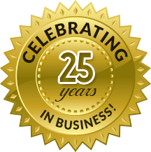 Celebrating 25years in Business!